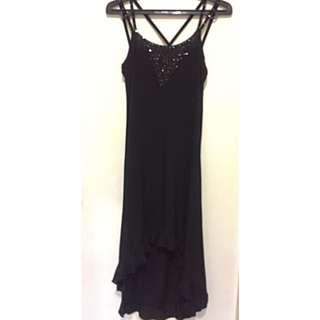 Black Night Gown