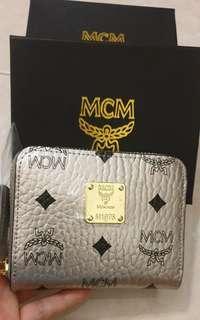 MCM Zipper Wallet