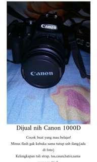 Kamera Canon 1000D