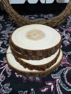 🚚 Decorative Wood Slices Pieces Imported