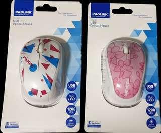 Prolink USB Optical Mouse