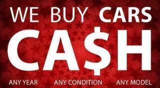 Buy your scrap/unwanted/export/used car cash immediate