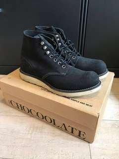 Red Wing Crossover Chocolate 黑色絨面鞋