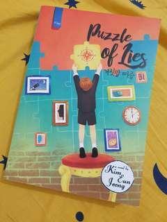 Puzzle of Lies Novel