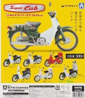 Aoshima 1/32 Honda Super Cub Collection