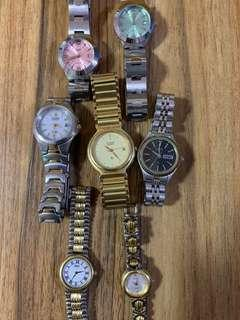 🚚 Branded vintage watches