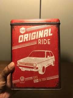 Volkswagen Retro Tin Box