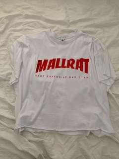 Autographed Mallrat graphic tee