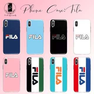 🚚 Phone Case: FILA