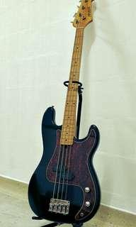 1990 MIJ Maison Fender Precision Bass , Vintage Pbass Guitar