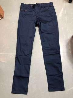 全新ZARA MAN 藍色褲