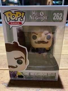 Funko Pop Hello Neighbour with Axe and Rope