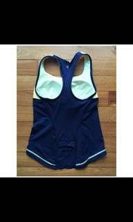 🚚 Lululemon tank TOP with bra pad