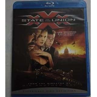 Blu ray movie original XXX: State of the Union
