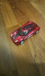 Transformer toy car