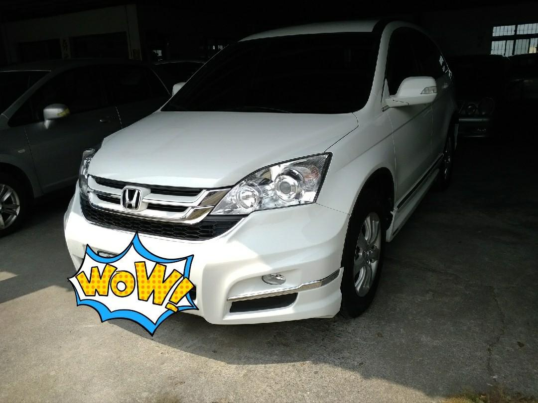 2010 CRV 2.0 白色