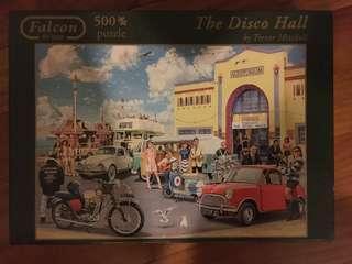 Falcon de luxe Disco Hall 500 Piece Jigsaw Puzzle by Trevor Mitchell