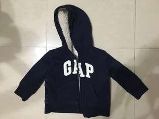 baby Gap Baby Jacket with Wool Inlay (6-12mth)