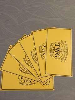 🚚 TWG TEA Post Card (6 pieces)