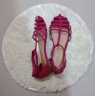 Sepatu Tali Pink sz 36