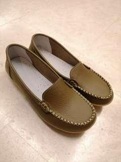 Khaki Shoes Brand New size 40