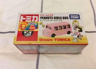 Peanuts girls bus