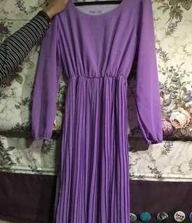 Purple Dress / Jubah