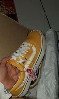Vans Old School Yellow