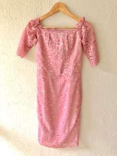 ICONETTE Lace Midi Dress