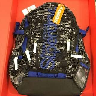 😍Superdry😍Camouflage Mesh Backpack Camo 藍色迷彩