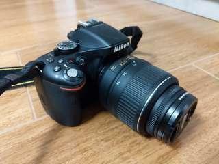 Nikon D5200 連18-55 及副廠直倒 kit set