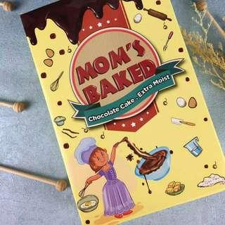 MomsBaked Instant Extra Moist Chocolate Cake Premix
