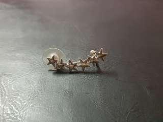 Silver Star Cuff