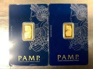 PAMP 7.5 gram 999 gold