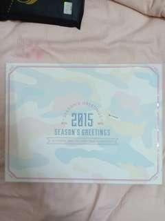 BTS 2015 Season's Greeting