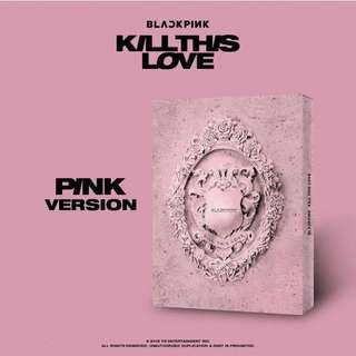 [PO] BlackPink 2nd Mini Album - Kill This Love