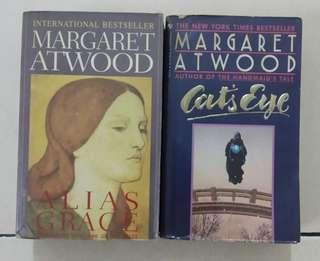 Margaret Atwood novels