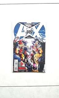 Signed by Jim Cheung Marvel Comics  Avengers vs  X-Men 1 Near Mint Condition