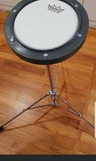 Remo Drum Practice Pad w stand Tunable 6 Inches Key provided