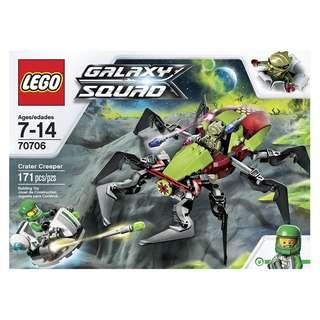 LEGO® Galaxy Squad™ ​70706 Crater Creeper (Retired/MISB)