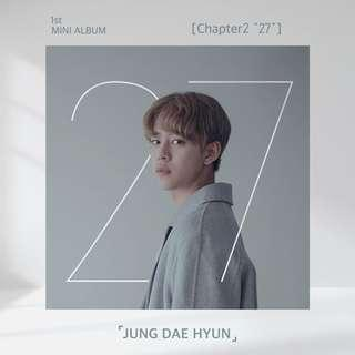 [PREORDER] Jung Daehyun - Chapter 2 27 (1st Mini Album)