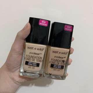 🚚 Wet n wild粉底兩瓶100元!