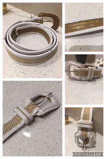 White Ladies Belt