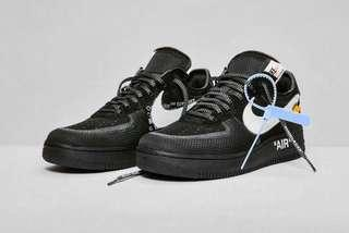 🚚 WTB AirForce1 off-white US9