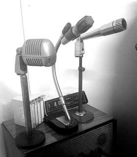 🚚 Vintage table mic / microphone