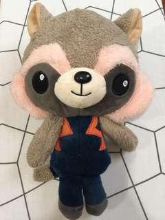 Plush Toys - Rocket Guardian of the Galaxy