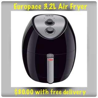 Europace 3.2L Air Fryer with 15mths warranty
