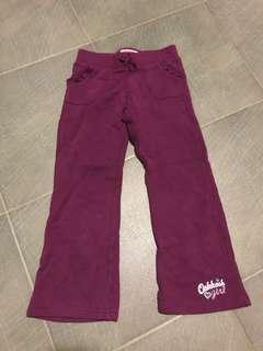 Osh Kosh Girls Fleece pants 6T