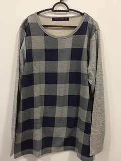 Long Sleeve T-Shirt fit to XXL - New