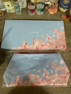 Innis Free cosmetic bag 櫻花
